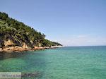 Makryammos - Strand bij Limenas (Thassos stad)   Foto 17