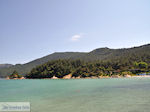 Makryammos - Strand bij Limenas (Thassos stad)   Foto 20